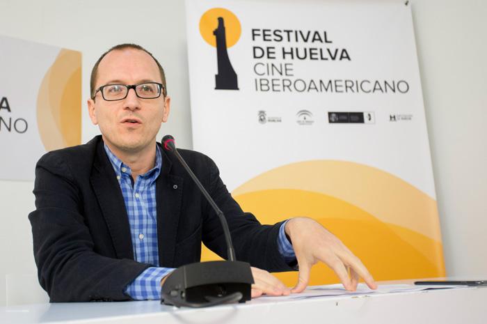 Manuel H. Martín durante la rueda de prensa.
