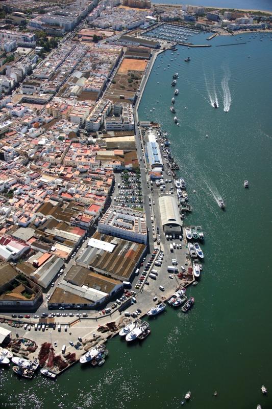 Imagen del Puerto de Isla Cristina.