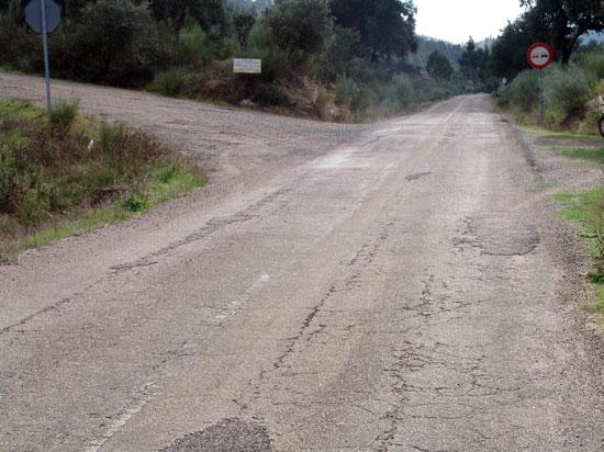 Imagen de la carretea La Nava.