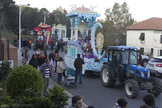 Cabalgata de Reyes en la localidad onubense de Minas de Riotinto