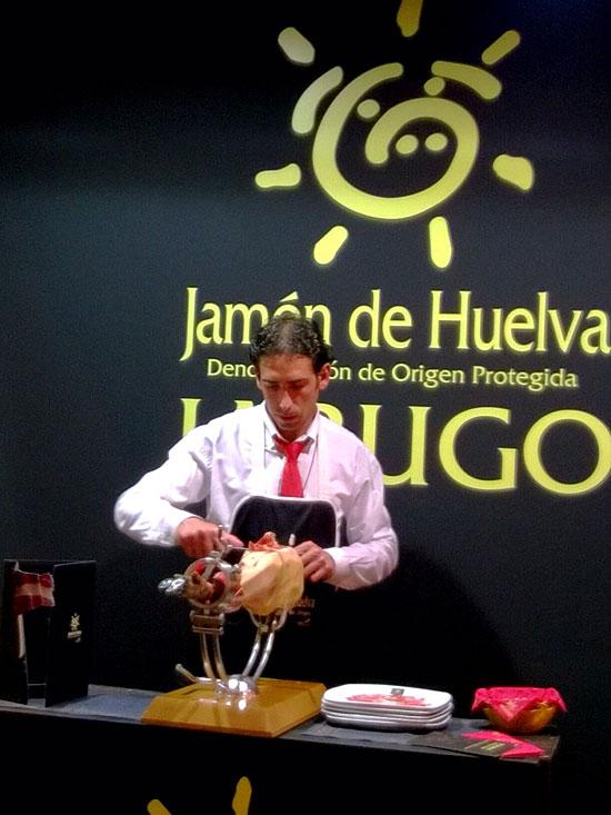Imagen del stand en el Salón de Gourmets de Madrid.
