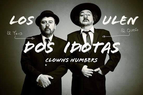 """Cartel del espectáculo teatral """"Los Ulen""""."""