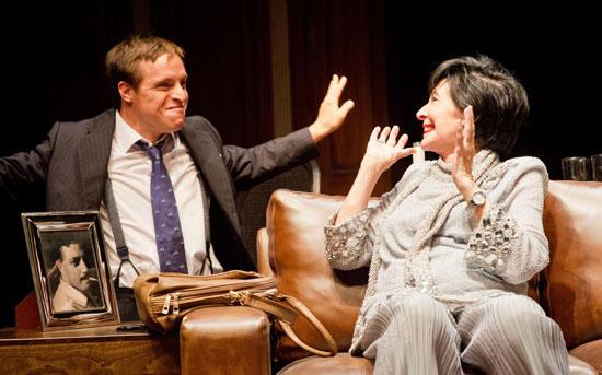 """Imagen de la obra teatral """"Olivia y Eugenio""""."""