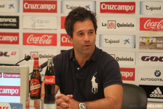 José Domínguez- Entrenador del Real Club Recreativo de Huelva
