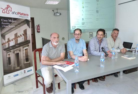 El salón de actos de la casa-museo acogió en la tarde de ayer la presentación de dos interesantes trabajos literarios