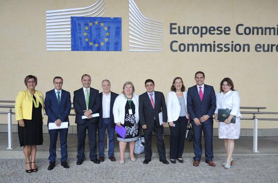 Reunión en Bruselas sobre los fondos Feder.