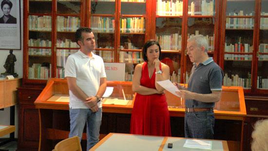 Momento durante la presentación del documento.