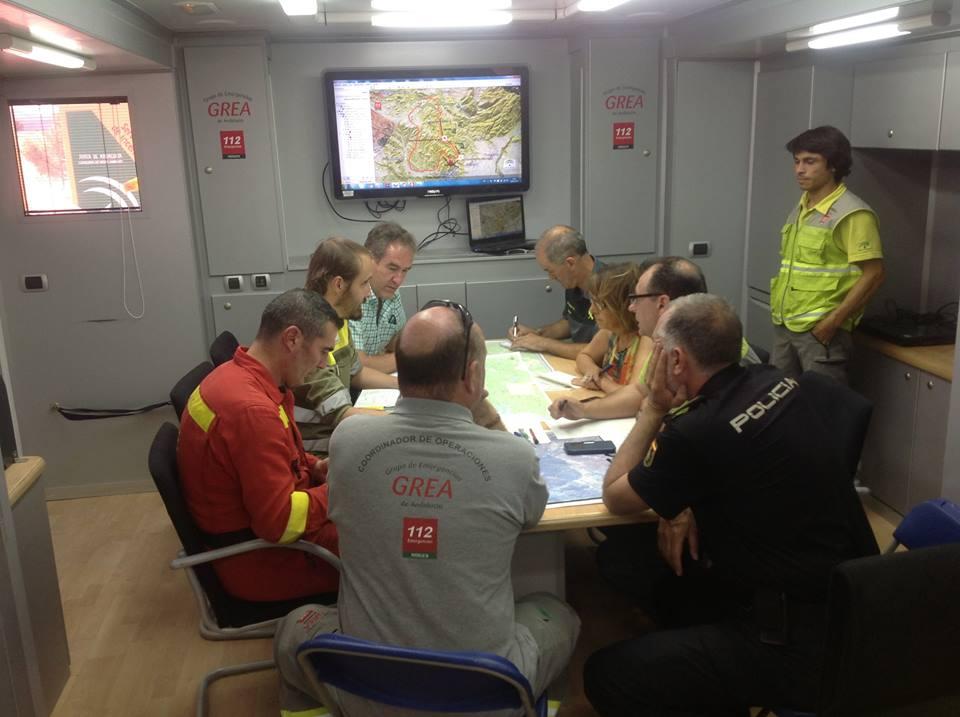 Reunión de coordinación del Comité de Operaciones.