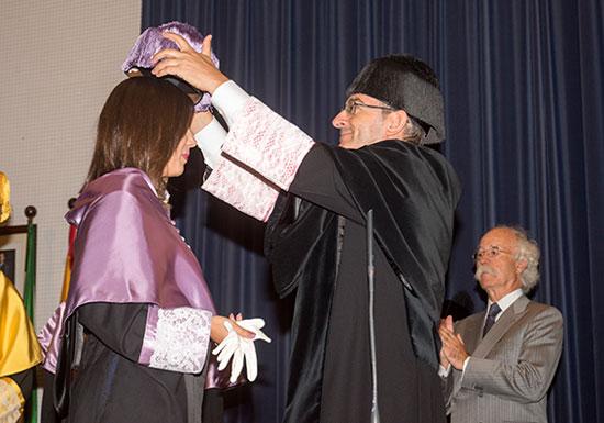 Imagen de la inauguración del curso académico.