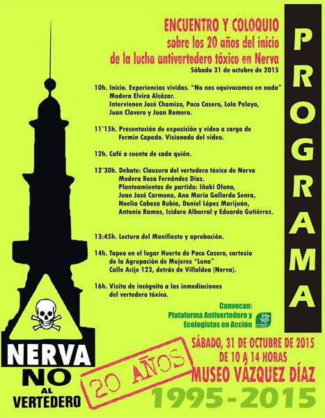Cartel del Encuentro-Coloquio.