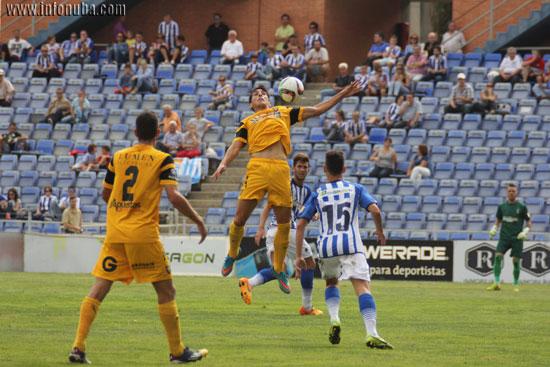 Imagen del encuentro entre el Recreativo de Huelva y el UCAM Murcia en la primera vuelta.