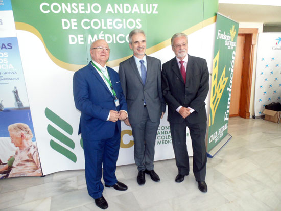 Acto de inauguración inauguración de las IV Jornadas de Colegios de Médicos de Andalucía.