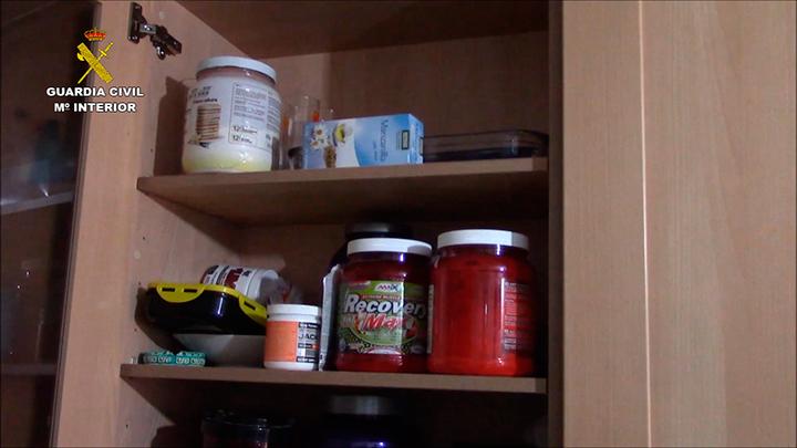 Imagen de algunos productos investigados en la operación.