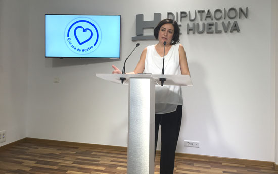 Imagen de Aurora Vélez en rueda de prensa.