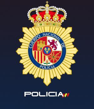 Escudo de la Policía Nacional.