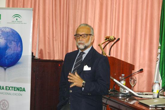 José María O´kean durante su intervención.