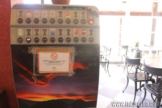 Imagen de una máquina de tabaco.