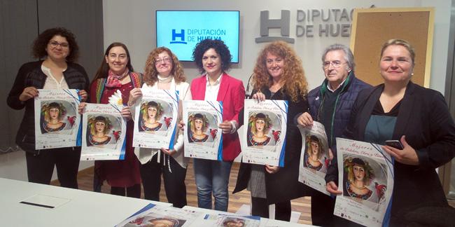 """Presentación del evento """"Mujeres de palabra, obra y pincel""""."""