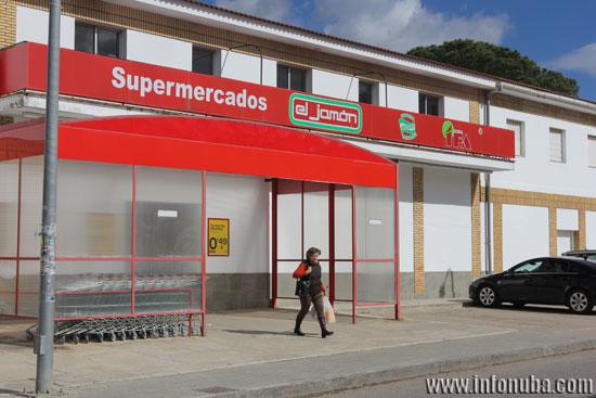 """Imagen de un establecimiento de supermercados """"El Jamón""""."""