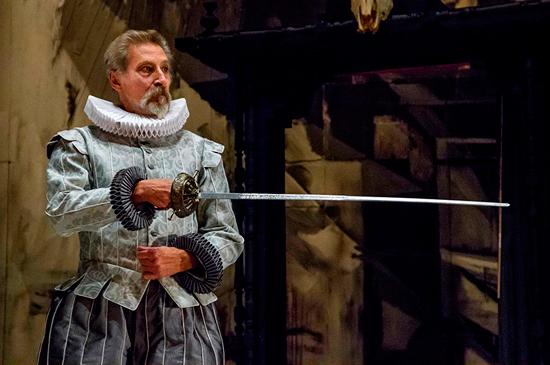 Imagen de la representación de El Retablo de las Maravillas, de Cervantes