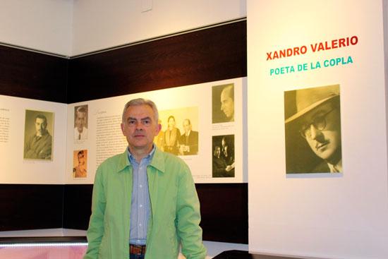 El Director del Archivo y promotor de la exposición, Diego Ropero-Regidor.