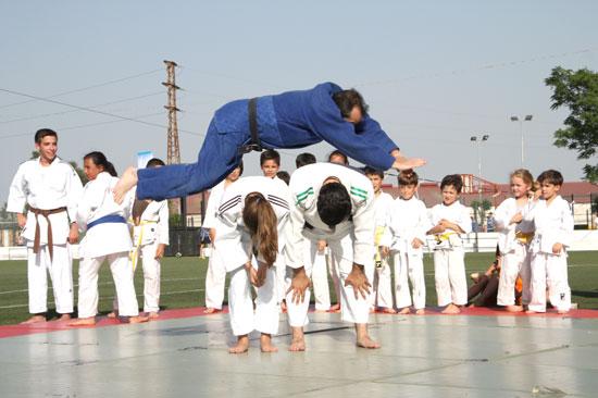 Imagen de la actividad de Karate.