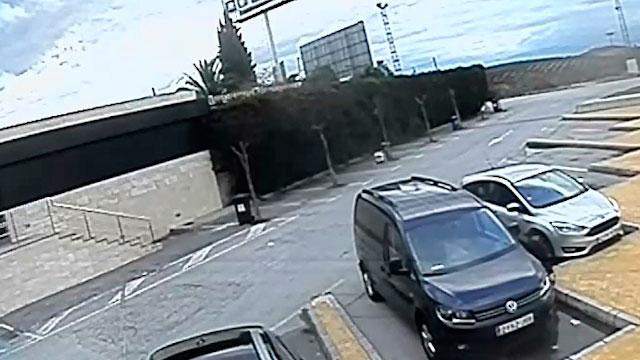 Imagen de una de las áreas de servicio donde se perpetraban los robos.