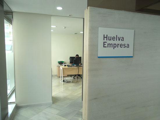 Imagen de la Oficina Huelva Empresa.
