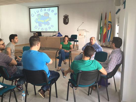 Imagen del taller celebrado en Beas.