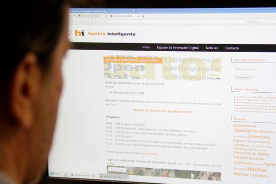 Portal web de Huelva inteligente.