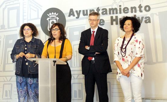 Acto de presentación del taller para mujeres reclusas.
