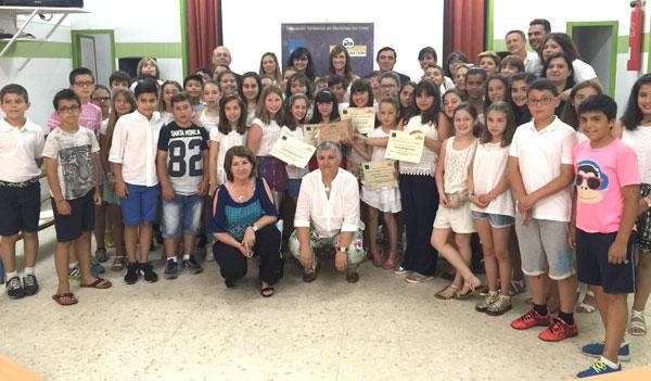 Imagen de la entrega de premios.