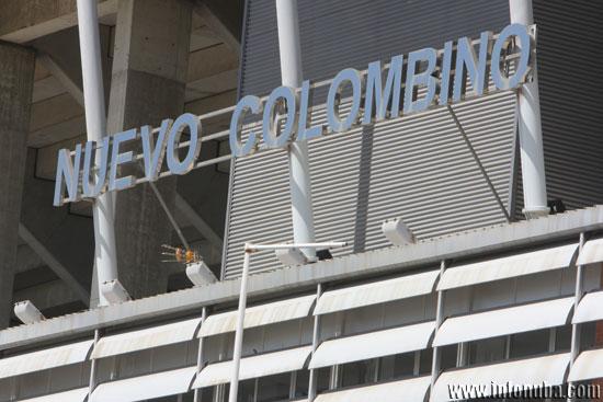 Imagen del Estadio Nuevo Colombino.