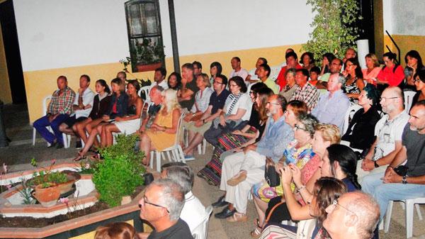 Imagen del público asistente.