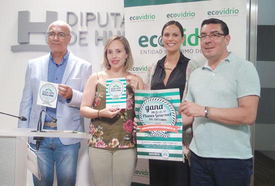 Presentación del Plan de Verano 2016 para la recogida y reciclaje de vidrios en la provincia de Huelva.