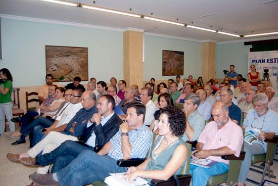 Imagen del público asistente en la jornada celebrada en Villalba.