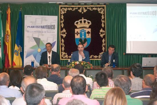 Encuentro de Participación de Agricultura Mediterránea celebrado en Villalba del Alcor.