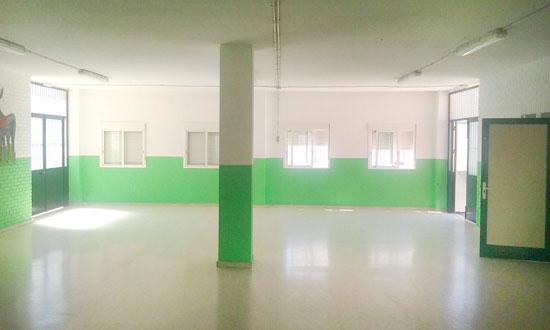 Imagen de uno de los centros escolares.