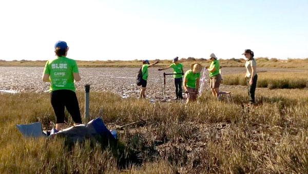 Una acción del Proyecto Life Blue Natura.