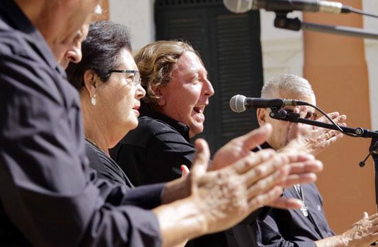 Imagen de una actuación en la Casa Colón.