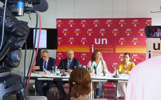 Presentación del Aula de la Experiencia en la UNIA.