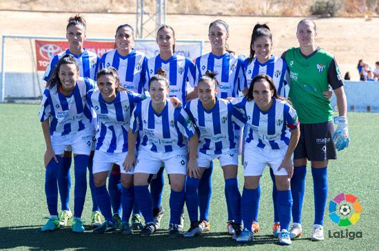 Once inicial del Sporting Club de Huelva.