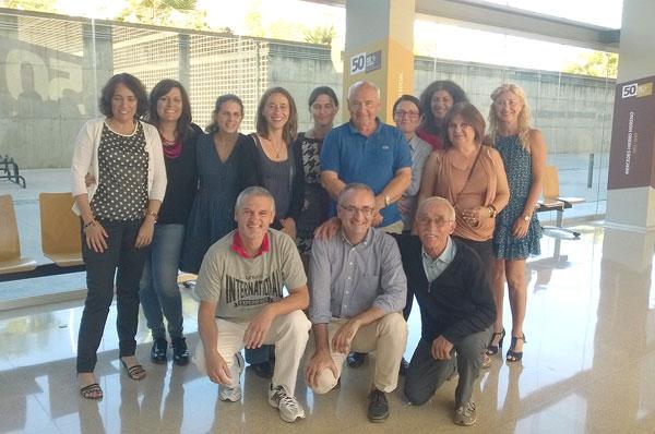 Participantes en el seminario de trabajo sobre el Proyecto DIME.