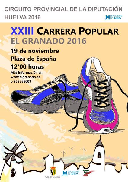 Cartel de la XXIII Carrera Popular El Granado