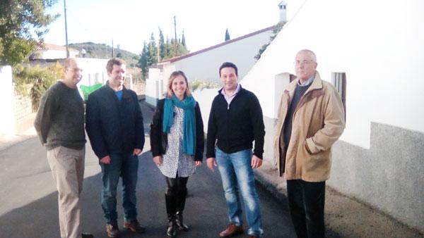 Imagen de la visita a Higuera.