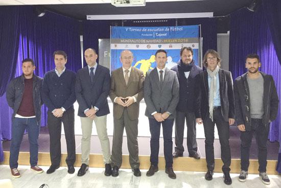 Presentación del V Mundialito de Navidad de Fútbol 7 de la Fundación Cajasol.