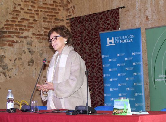 Carmen Calvo durante su participación en acto.