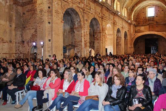 Imagen de las asistentes.