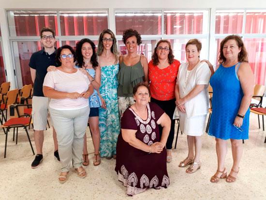Algunos de los padres de niños y adolescentes con Diabetes tipo I, asistentes al taller de la Escuela de Pacientes de Andalucía