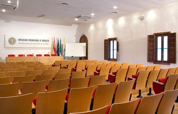 Ua de las aulas del Campus de La Rábida